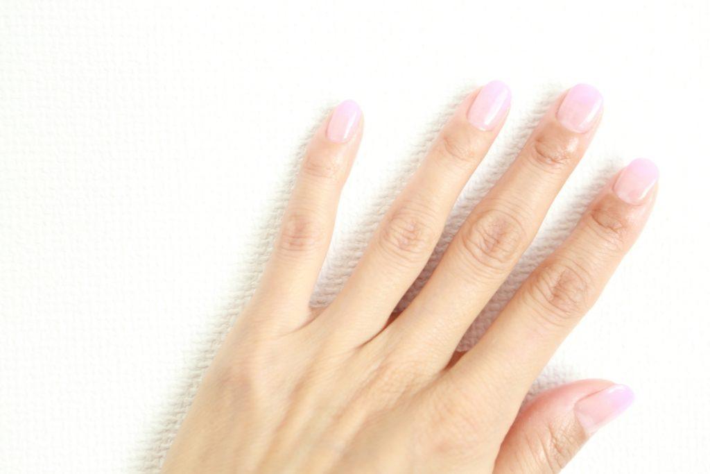 結婚式お呼ばれネイルマナー おすすめの結婚式お呼ばれネイル:一色塗り
